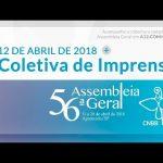 Dom Pedro participa de coletiva de imprensa da 56ª Assembleia Geral da CNBB