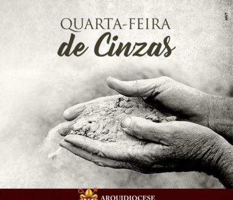 MISSA DE CINZAS MARCA INÍCIO DA QUARESMA E LANÇAMENTO DA CAMPANHA DA FRATERNIDADE 2019