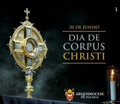 ARQUIDIOCESE DE PALMAS REALIZA AÇÃO SOCIAL NO DIA DE CORPUS CHRISTI