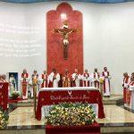 FIÉIS PRESTIGIAM MISSA DE ACOLHIDA DOS BISPOS DO REGIONAL NORTE 3