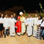 Durante visita Pastoral comunidade homenageou o Arcebispo de Palmas relatando sua trajetória