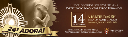 Arquidiocese de Palmas se prepara para 24º Adorai