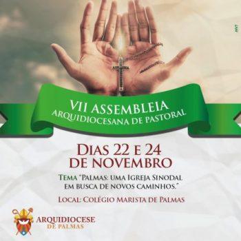 VII Assembleia Arquidiocesana de Pastoral acontece em novembro