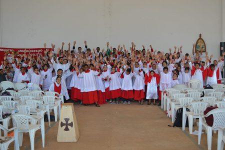 Encontro promove interação entre coroinhas e  acólitos da Arquidiocese de Palmas