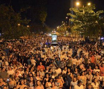 Arquidiocese registra público recorde no terceiro Círio de Nazaré em Palmas