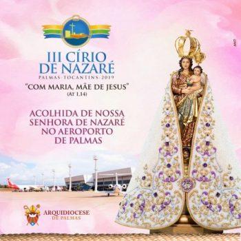 Arquidiocese de Palmas divulga programação do III Círio de Nazaré