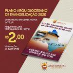 Confira o Plano Arquidiocesano de Evangelização 2020