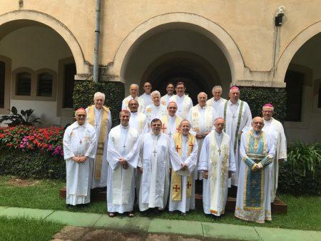 EE em Itaici para bispos...