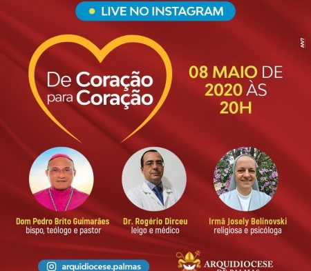 Dom Pedro convida fiéis para participarem de live nesta sexta, 8