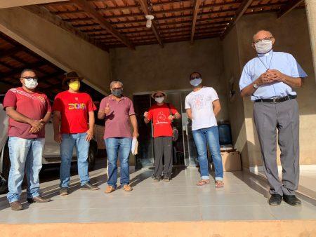 """Organismos Sociais da Arquidiocese Palmas promovem ação """"Dar de comer e promover cidadania"""" pelo Estado"""