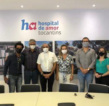 Arcebispo de Palmas visita o Hospital de Amor do Tocantins e reafirma o apoio da Igreja