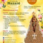 Arquidiocese de Palmas divulga programação oficial do 4º Círio de Nazaré em Palmas