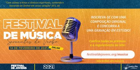 IV Festival de Música da Comunidade Sementes do Verbo