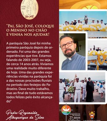 Homenagem a São José padroeiro de Palmas-TO