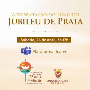 Hino do Jubileu é apresentado e canção pode ser conferida nas plataformas da Arquidiocese de Palmas