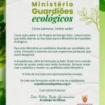 FICHA DE INSCRIÇÃO MINISTÉRIO DE GUARDIÕES ECOLÓGICOS